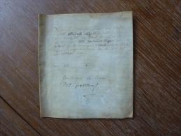 VELIN DATE DE 1687 AVEC SCEAU PAPIER - Manuscripts