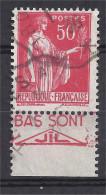 France - Carnets - Pub - Paix 50 C Rouge - Yvert N° 283 -  Type IV - JIL - Oblitéré - Publicités