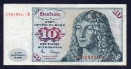GERMANIA 10 Marchi 2/1/1980 - [ 6] 1949-1990: DDR - Duitse Dem. Rep.