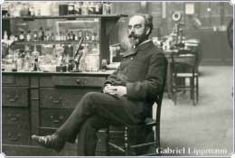 NOBEL PRIZE WINNERS Gabriel Lippmann Stamped Card 0951-2 - Nobel Prize Laureates