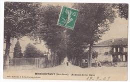 MONCOUTANT  - Avenue De La Gare.. - Moncoutant