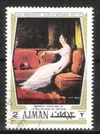 Ajman : Timbre Oblitéré De 1970 - Napoléon ( Joséphine De Beauharnais  ) - Napoleon