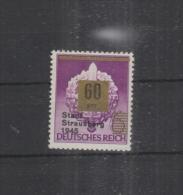 Privatausgabe Strausberg 60 Pfennig Postfrisch - Sowjetische Zone (SBZ)