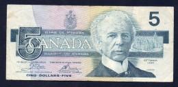 CANADA 5 Dollari - BB - Canada
