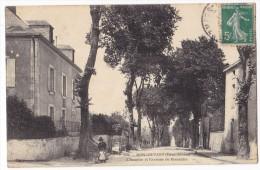 MONCOUTANT  -  L'Hospice Et L'avenue De Bressuire. Carte Rare. - Moncoutant