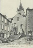 Aveyron : Salles-Curan,  L'Eglise - Francia