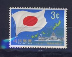 RYU-KYU 1970 DRAPEAUX  YVERT N°195  NEUF MNH** - Ryukyu Islands
