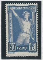 France N° 186, 50 C Jeux Olympiques 1924, Neuf Sans Charnière - France