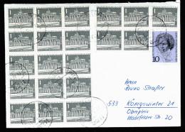 A3697) Berlin Brief Von 1.11.1970 Mit Massenfrankatur - [5] Berlijn