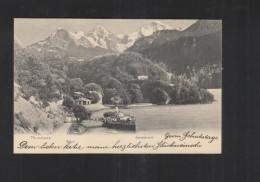 Schweiz AK Beatenberg Beatenbucht 1906 - BE Bern