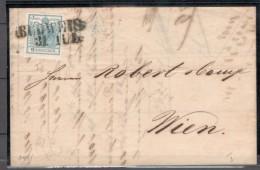 Austria1850:Michel 5HII Cat.Value 70Euros($78) - Cartas