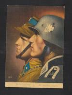 Dt. Reich PK Wir Werden Siegen 1940 In Die Schweiz Gelaufen - Guerra 1939-45