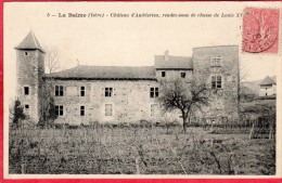 CPA 38 LA BALME Château D' Amblerieu Rendez Vous De Chasse De Lois XVI - France