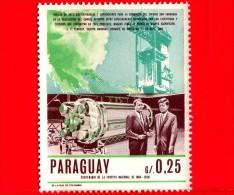 PARAGUAY - Usato - 1967 - 50° Anniversario Della Nascita Di John F. Kennedy - Wernher Von Braun - 0.25 - Paraguay