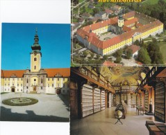 0698t: 3 Moderne AKs Stift Seitenstetten, Ungelaufen - Austria