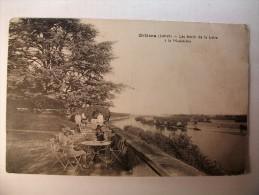 Carte Postale Orléans Les Bords De La Loire à La Madeleine (oblitérée Timbre 20 Centimes) - Orleans