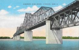 Mississipi River Bridge - Vicksburg, Miss - Rail And Traffic Bridge - Autres