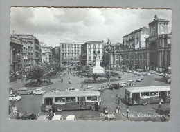 NAPOLI...PIAZZA DANTE..AUTO..CAR..BUS..AUTOBUS - Napoli (Naples)