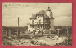 "Oostduinkerke - Villa "" L""Ermitage ""  ( Verso Zien ) - Oostduinkerke"