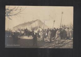 WWI PPC Serbia Funerals - Serbia