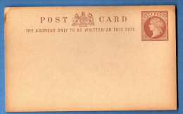 ENTIER POSTAL HALF PENNY - Stamped Stationery, Airletters & Aerogrammes