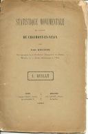 Statistique Monumentale Du Canton De Chaumont En Vexin Louis Régnier 1891 REILLY Photos état Moyen - Bücher, Zeitschriften, Comics