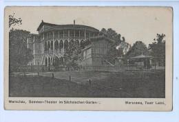 9043    CPA  WARSZAWA / WARSCHAU :  Sommer - Theater Im Sächsischen Garten - Pologne
