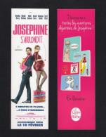 """Marque Page.  Cinéma.  Film """"Joséphine S'arrondit""""    Le Livre De Poche.    Bookmark. - Bladwijzers"""