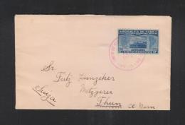 Cuba Cover 1928 To Switzerland - Brieven En Documenten