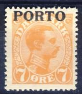 #K2533. Denmark 1921. Postage Due. Michel 3. MNH(**). - Port Dû (Taxe)