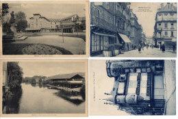 BRIVE - 4 CPA - Les Lavoirs - La Tour St Martin (Epicerie Paul Mallet) Le Square Majour - Hotel Des Postes  (84608) - Brive La Gaillarde