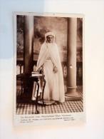 Carte Postale Ancienne : Sa Majesté SIDI-MOHAMMED BEN YOUSSEF, En Costume De Cérémonie - Non Classés