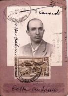 TESSERA-CARTA D'IDENTITA' POSTALE 23/6/1952 -2 SCAN- - Pubblicitari