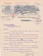 Lettre 10/10/1919 GEORGE WARWICK Export Import LONDON - Xaintrailles Lot Et Garonne France - Royaume-Uni