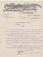 Lettre 1898 C COLLET Commission Exportation Représentation LIVERPOOL - Mazamet Tarn France - Royaume-Uni