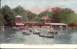 PC - New York - Boat House Central Park - 1907 - Central Park