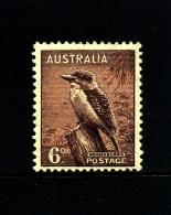 AUSTRALIA - 1937  DEFINITIVE  6d  PERF. 13 1/2 X 14  MINT NH  SG 172 - 1937-52 George VI