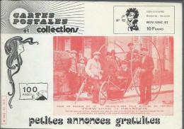 Revue  Carte Postale Et Collection  N: 82  De 1981 - Français