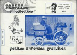 Revue  Carte Postale Et Collection  N: 95 De 1984 - Français
