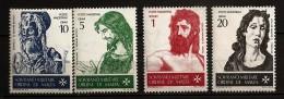 Ordre De Malte 1967 N° 19 / 22 ** Art, Saint Jean-Baptiste, Pinturicchio, Donatello, Botticelli, Le Titien, Évangile - Sovrano Militare Ordine Di Malta