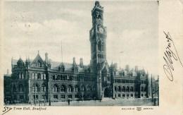 YORKS - BRADFORD - TOWN HALL 1904 Y2706 - Bradford