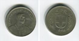 [C457] Suisse : 5 Francs 1968B - Suisse