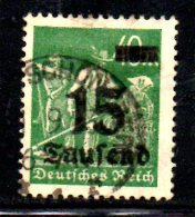 GERMANIA IMPERO 1923 ,   N . 255  Usato - Germania