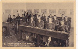 """Virton - Ecole Moyenne Ménagère - Classe, Cours Théoriques (belle """"animation"""", Edit Thill) - Virton"""
