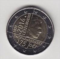 @Y@   2 Euro Com . 2014  UNC      Luxemburg  ( 201410) - Luxembourg