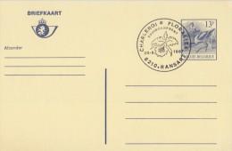 BELGIË/BELGIQUE:Illustr. Date Cancel On Post. St.:## 26-9-87: RANSART : Charleroi*Floralies : Environnement ##: ORCHIDEE - Orchids
