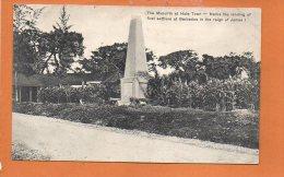BARBADOS Views - The Monolith At Hole Town - Barbados