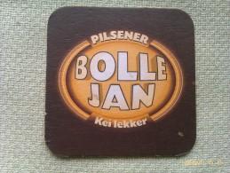Posavasos Cerveza Bolle Jan Pilsener. Brabante. Holanda - Sous-bocks