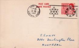 "Canada Montreal 1967 Expo 67 ""Air Canda"" Postal Card/postcard-I - 1953-.... Elizabeth II"