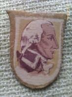 Emblema De Auxilio Social De 30 Cts De Marino Gravina. Batalla De Trafalgar. Guerra Civil Española. 1936-1939 - 1939-45